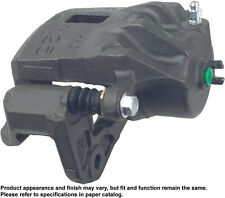 Reman Disc Brake Caliper - Friction Choice Caliper with Bracket, Front Right