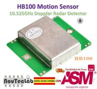 HB100 Microwave Motion Sensor 10.525GHz Doppler Radar Detector