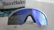 New Oakley  Special Edition  Razorblade sunglasses White/Violet  iridium