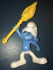 Clumsy Smurf Action Figure Toys McDonalds Happy Meal 2011
