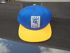 St. Louis Rams 1995 Charter Owner PSL Flat Bill Baseball Hat NFL Cap LA Football
