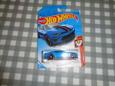 HOT WHEELS - 2019 ISSUE '18 COPO CAMARO SS [ BLUE ] new ON SHORT CARD
