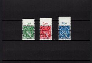 """Berlin 1949, Nr. 68-70, gestempelt Versandstelle """"Berlin-Charlottenburg"""", Attest"""