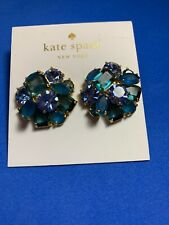 NWT Authentic Kate Spade Shine On Blue Cluster Studs WBRUE847