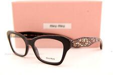 Brand New Miu Miu Eyeglass Frames MU 05O 05OV 1AB BLACK Women