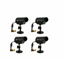 Astak CM-818W. 4x Wired cctv Camera's & 4x Power Adapter