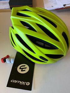 BRAND NEW - Carnac Croix Road Helmet 58-61cm Large Fluro Yellow MUST GO