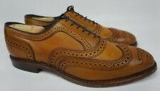 Allen Edmonds McAllister Wingtip Oxford Walnut Calf Brown Men's Shoes Size 7.5 D