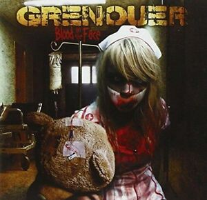 Grenouer - Blood On The Face CD