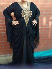 Muslim Evening Dresses Hijab Dubai Abaya Kaftan Dress Turkish Arabic Prom XL