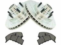 Brake Pad and Rotor Kit For C1500 Suburban Express 1500 Savana Tahoe ZB73Q4
