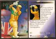 FUTERA 1996 WORLD CUP CRICKET Michael Bevan Retrospective AR8 #0375