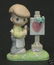 """Precious Moments """"Loving You Dear Valentine"""" Boy"""