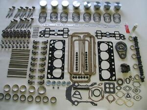 Deluxe Engine Rebuild Kit 56 Ford Mercury 312 V8 NEW 1956 pistons valves cam