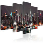 Canvas Print New York City Skyline Urban Wall Pictures Modern Art Home Decor