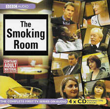 THE SMOKING ROOM Complete First 1st Series 1 - 4 CD Audio Book Comedy Sitcom