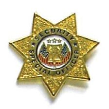 Security & Us Rescue Hat Lapel Pin - Special Officer Security Pin - New