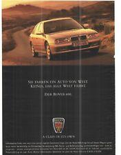 ROVER 600 -   historische Reklame  alte Annonce   vintage advert