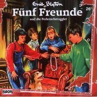 "FÜNF FREUNDE ""UND DIE PERLENSCHMUGGLER (FOLGE 26)"" CD HÖRBUCH NEUWARE"
