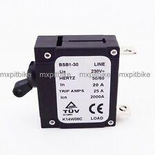 230V 20 AMP 20A Chinese Generator Circuit Breaker 25 Trip Amps Hertz 50/60