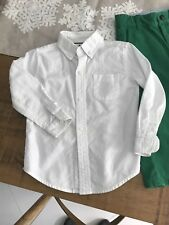 Janie And Jack White Button Down Shirt Baby Toddler Boy Sz 2 2T