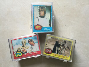 Star Wars Complete Sets Of Series 1, 2 And 3 Trading Cards - 1977