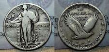 1927 S Standing Liberty Quarter 25c Better Date !!!