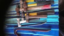 Huge job lot of hammers and crow bars