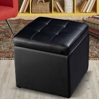 116 Quot Cube Ottoman Pouffe Storage Box Lounge Seat
