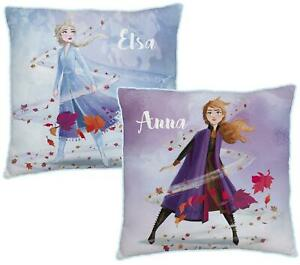 Official Disney Frozen 2 Journey Square Cushion Matches Bedding