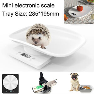 10KG LCD Digital Baby Pet Scale Puppy Dog Cat Weighing Scales Kitchen Food