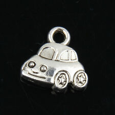 40pcs Tibetan Silver Cars Pendants Charms For Jewelry Making