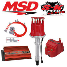 MSD 9500 Ignition Kit - Digital 6 Plus/Distributor/Wires/Coil Small Block Chevy