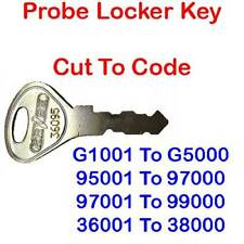 Replacement Probe L&F Lowe Fletcher Locker Lock Key Cut To Code
