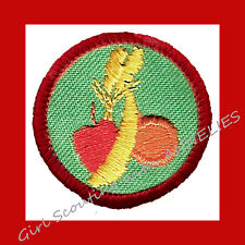 HEALTHY EATING, Girl Scout Red Worlds-Explore NEW Badge VOLUME DISCOUNT Fruit