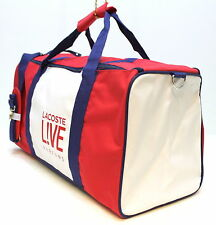 LACOSTE LIVE PARFUMS SPORTS / GYM / TRAVEL BAG