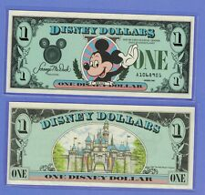 1987 A Disney Dollar Mickey Mouse CASTLE BACK 1st Year UNCIRCULATED  A SERIES