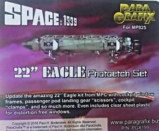 "Paragrafix Photoetch Set for 22"" 1/48 scale 1999 Eagle from Space PGX199 UK STOK"