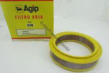 FILTRO ARIA AUTOBIANCHI A112- A112 E - FIAT 127 900CC - 128 BN - 128 228 AIR FIL
