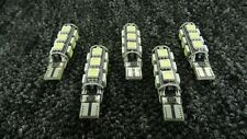 FERRARI CAR LED ERROR FREE CANBUS 13 SMD XENON WHITE W5W 501 SIDE LIGHT BULB
