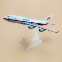 16cm Air Malaysia Airlines Boeing 747 B747 Aircraft Airplane Model Plane Gift