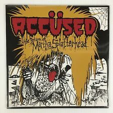 Accused - The Return of Martha Splatterhead LP Record - BRAND NEW - Reissue