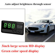 DC5V USB Car Speed Measurement HUD Display Projection Over Alarm GPS Speedometer