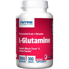 L-Glutamine 1000mg x 100EsolveTablets, Pharmaceutical Grade - Jarrow Formulas