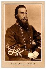 JOHN BELL HOOD Confederate General Civil War Vintage Photograph v2 CARD CDV RP