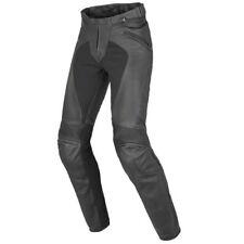 Pantaloni pelle bovini per motociclista donna