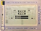 Microscale Decals 64-173 S Scale TTX Husky Container Car NOS
