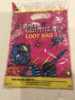 1984 Hasbro TRANSFORMERS 8 Loot Bags