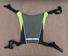 Led Cycling Back Vest, Bicycle Reflective Safety Light Rechargeable