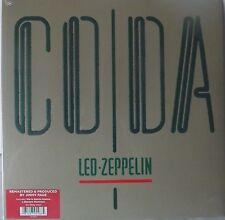 LED ZEPPELIN 'CODA' 2015 VINYL LP GATEFOLD REMASTERED 180 GRM NEW /  SEALED